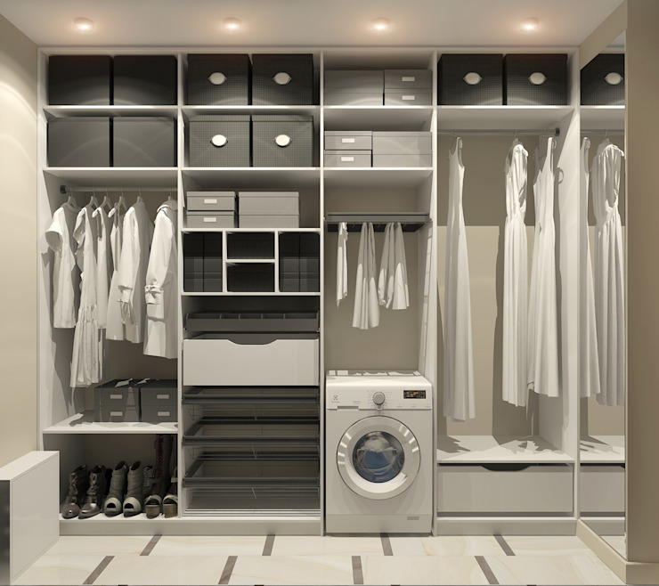 Modern dressing room by Aledoconcept Modern
