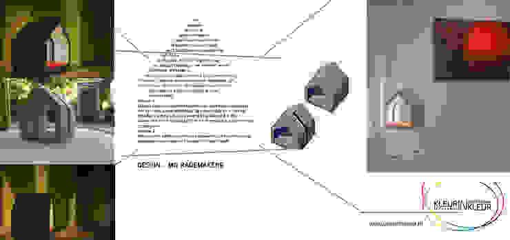 licht in Architectuur in licht van KleurInKleur interieur & architectuur Minimalistisch
