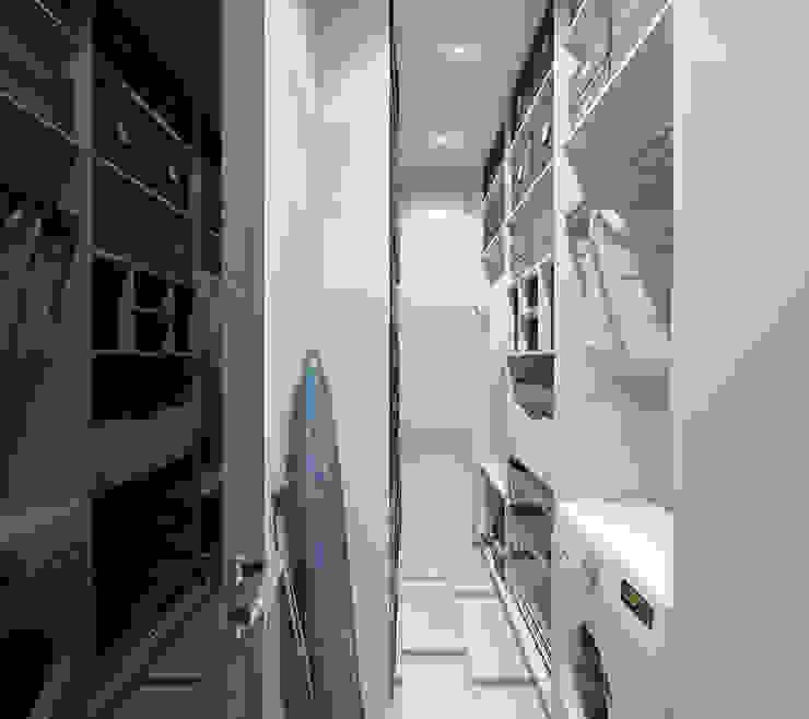 Дизайн-проект квартиры в ЖК Москва А101 Гардеробная в стиле модерн от Aledoconcept Модерн
