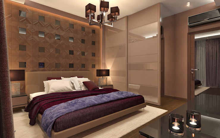 Modern style bedroom by Aledoconcept Modern