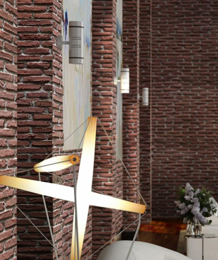 Brick Modern Duvar & Zemin Fade Panel Modern
