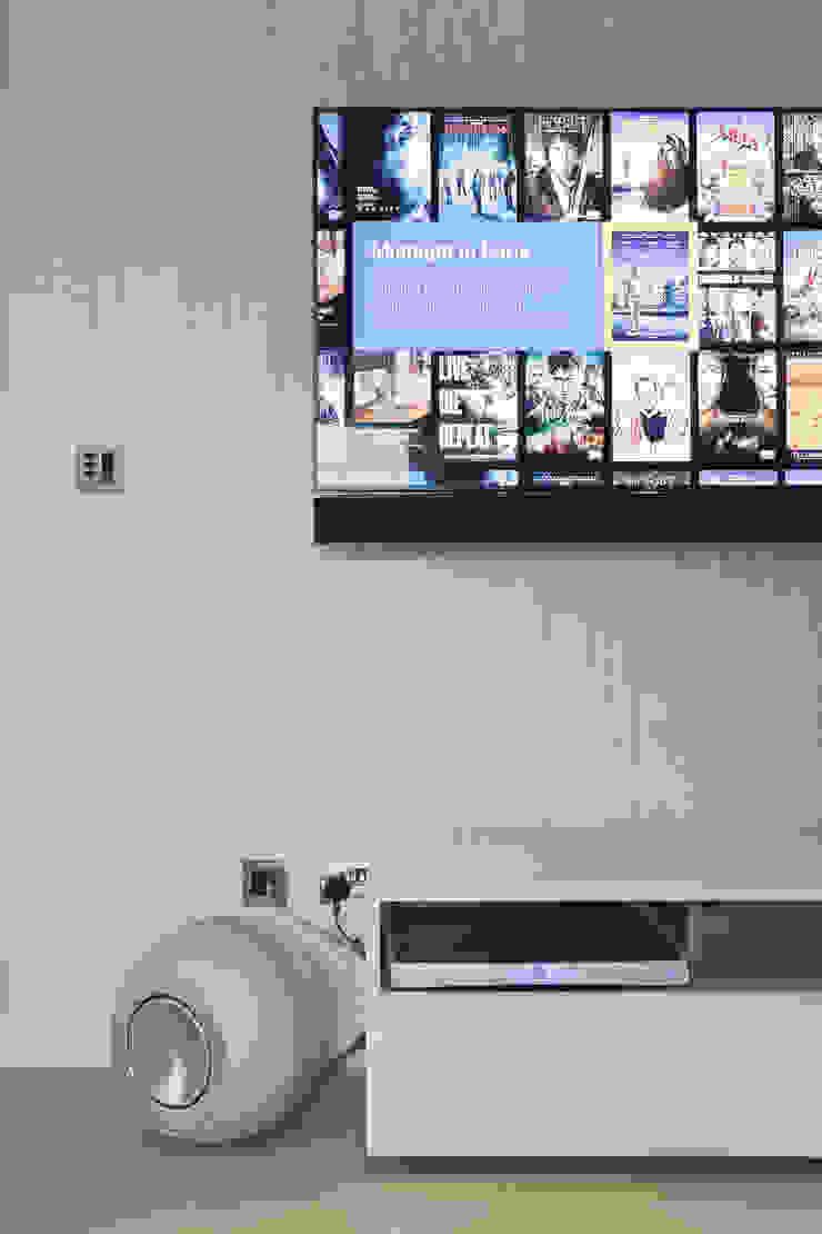 Chelsea Apartment London Residential AV Solutions Ltd Cocinas de estilo moderno