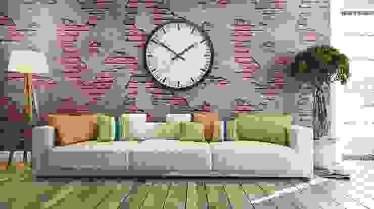 Стены и пол в стиле модерн от Fade Panel Модерн