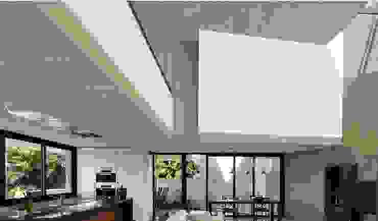 Paredes y suelos de estilo moderno de Fade Panel Moderno