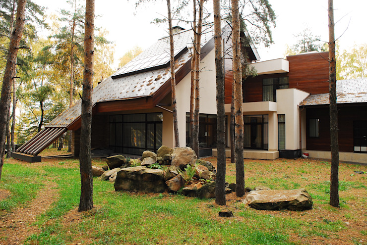 Modern houses by Армен Мелконян Modern