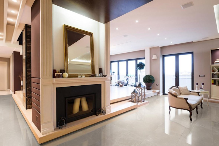 Tường & sàn phong cách hiện đại bởi Fade Marble & Travertine Hiện đại