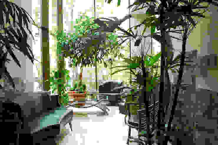 Jardines de invierno de estilo moderno de Армен Мелконян Moderno