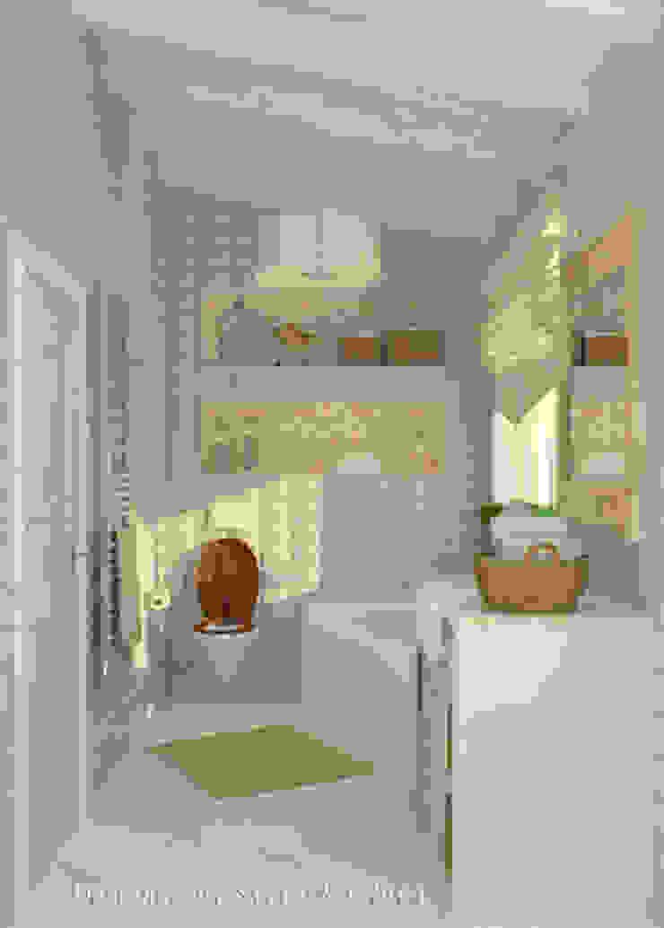 Работы Ванная комната в стиле модерн от Дизайнер КОЗЛОВА СВЕТЛАНА Модерн