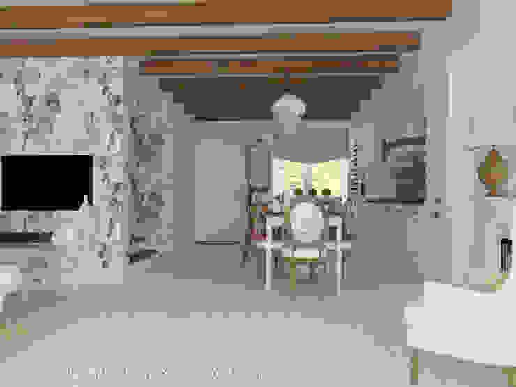 Работы Столовая комната в стиле модерн от Дизайнер КОЗЛОВА СВЕТЛАНА Модерн