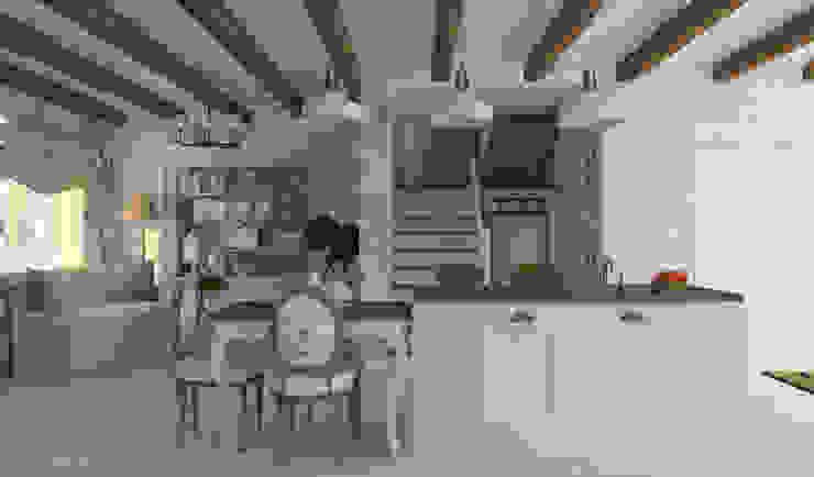 Работы Кухня в стиле модерн от Дизайнер КОЗЛОВА СВЕТЛАНА Модерн