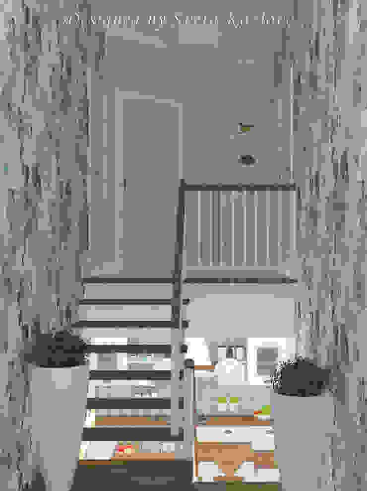 Работы Коридор, прихожая и лестница в модерн стиле от Дизайнер КОЗЛОВА СВЕТЛАНА Модерн