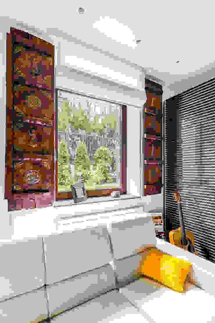 Our photoshoot of apartment located in Warsaw Kolonialny pokój multimedialny od Ayuko Studio Kolonialny