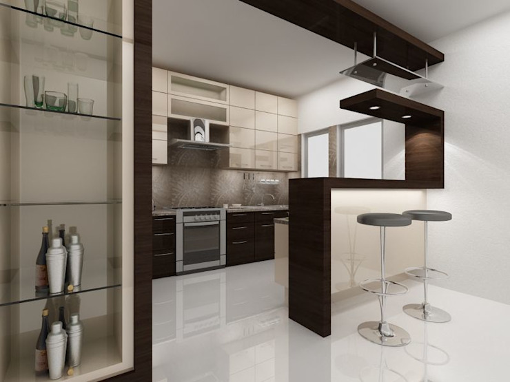 Kitchen by homify, Modern