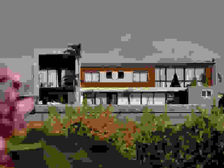 Moderne Häuser von Mascarenhas Arquitetos Associados Modern Holz Holznachbildung