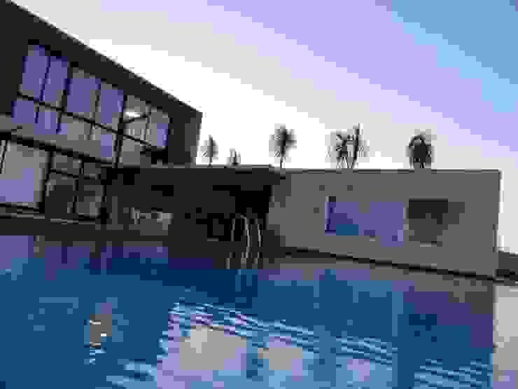 Moderne Pools von Mascarenhas Arquitetos Associados Modern