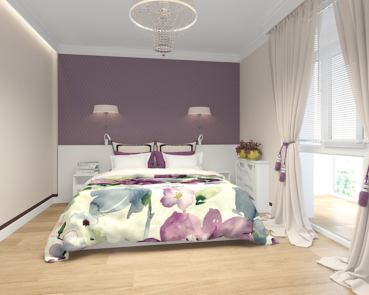 Bedroom by TrioDesign, Eclectic