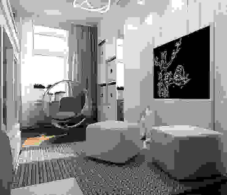 ЖК Карасьеозерский Детская комнатa в стиле минимализм от TrioDesign Минимализм