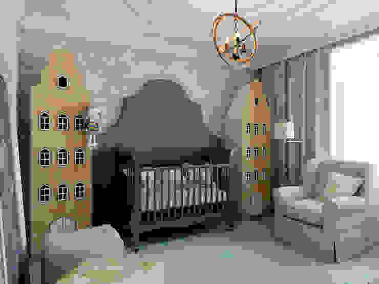 ЖК Микрогород в лесу Детская комнатa в классическом стиле от TrioDesign Классический