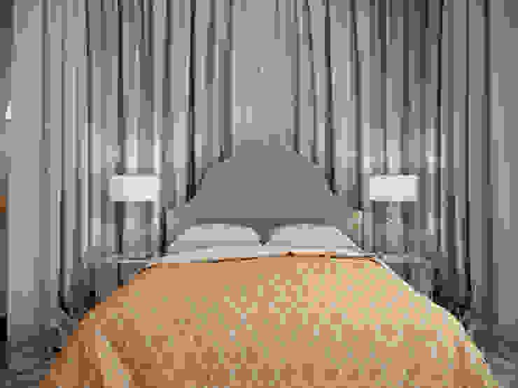 Квартира с орнаментом Спальня в эклектичном стиле от TrioDesign Эклектичный