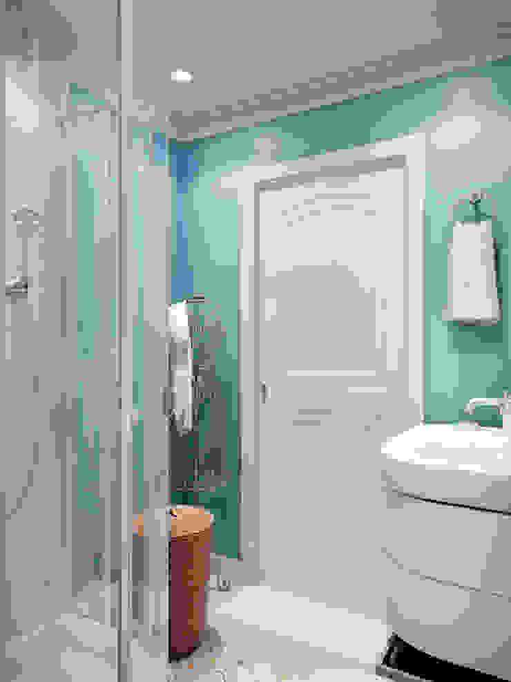 Квартира с орнаментом Ванная комната в эклектичном стиле от TrioDesign Эклектичный