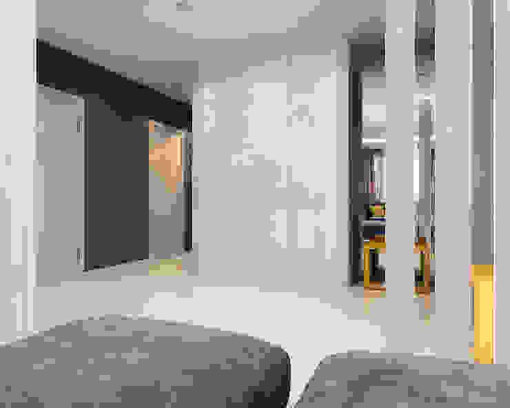 Студия Коридор, прихожая и лестница в стиле минимализм от TrioDesign Минимализм