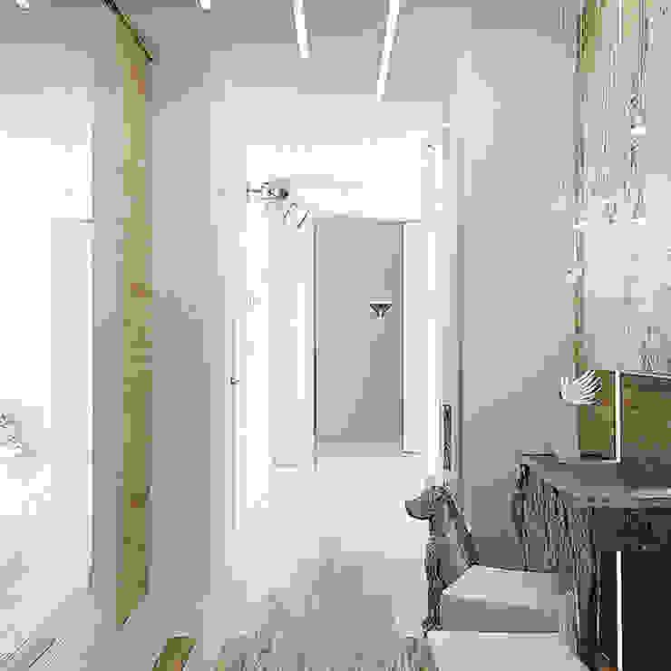 ЖК Москва Коридор, прихожая и лестница в эклектичном стиле от TrioDesign Эклектичный