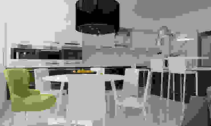 ЖК Москва Кухни в эклектичном стиле от TrioDesign Эклектичный