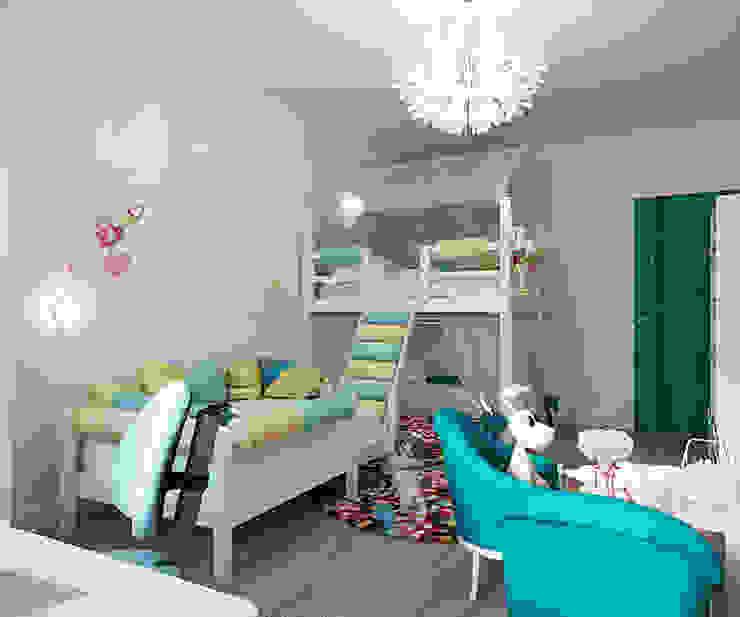 ЖК Москва Детские комната в эклектичном стиле от TrioDesign Эклектичный