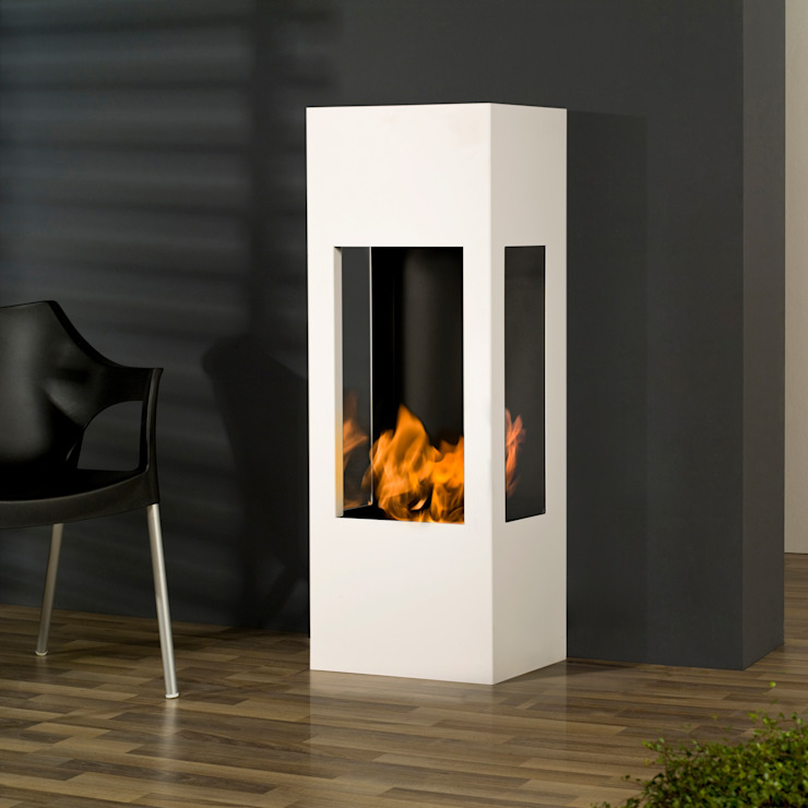 muenkel design - Elektrokamine aus Großentaft Living roomFireplaces & accessories