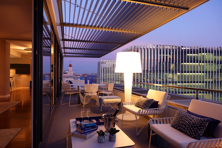 Moderne balkons, veranda's en terrassen van Susana Camelo Modern