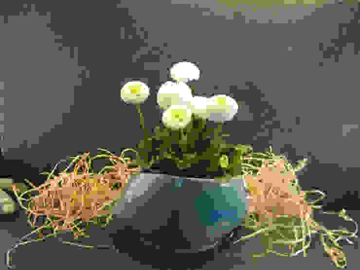 Зимний сад в стиле кантри от Bergdorf Keramik Кантри Керамика