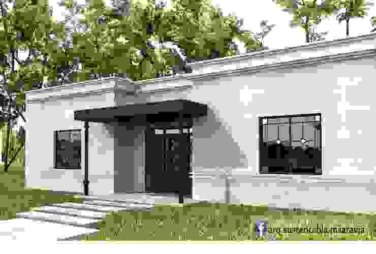 Ingreso:  de estilo  por Arq Magdalena Saravia - Estudio de Arquitectura Sustentable -