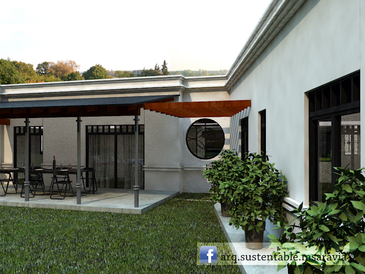 country  by Arq Magdalena Saravia - Estudio de Arquitectura Sustentable -, Country