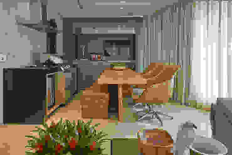 Apartamento AC Varandas, alpendres e terraços modernos por Gláucia Britto Moderno