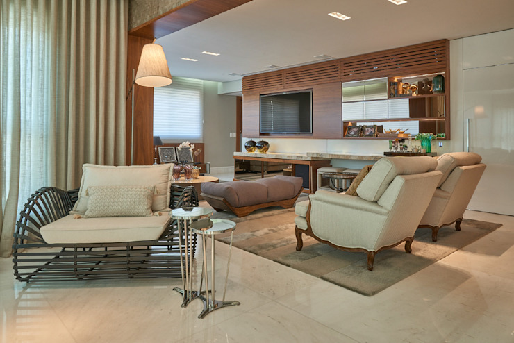 Gláucia Britto Modern living room