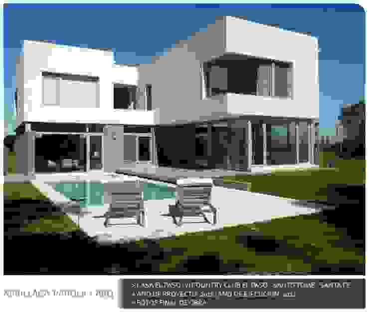 Casa El paso IV Casas modernas: Ideas, imágenes y decoración de ARRILLAGA&PAROLA Moderno