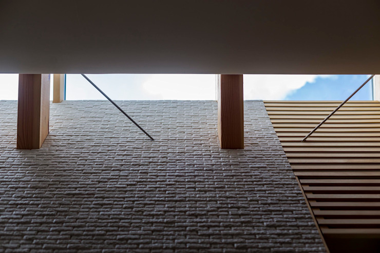 Modern Windows and Doors by スズケン一級建築士事務所/Suzuken Architectural Design Office Modern Tiles