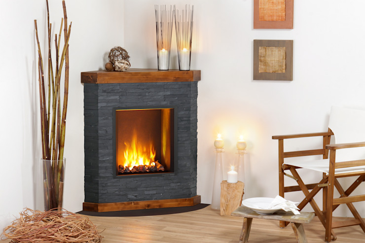 Aviano muenkel design - Elektrokamine aus Großentaft Living roomFireplaces & accessories