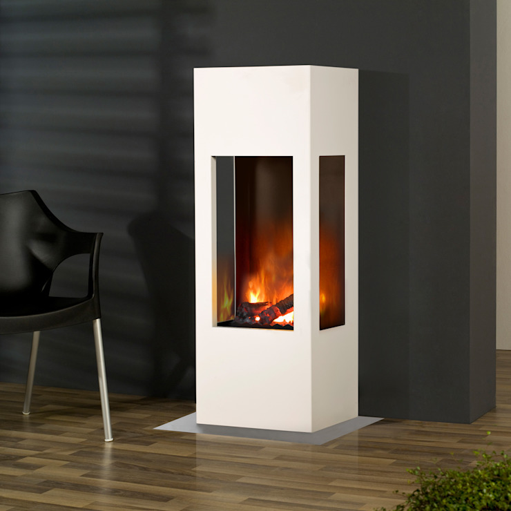 Prism Fire muenkel design - Elektrokamine aus Großentaft Living roomFireplaces & accessories