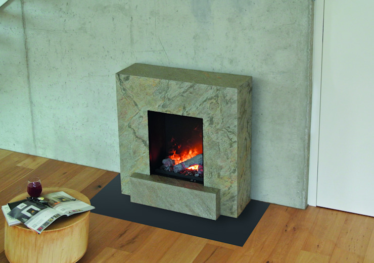 Vulcano muenkel design - Elektrokamine aus Großentaft Living roomFireplaces & accessories