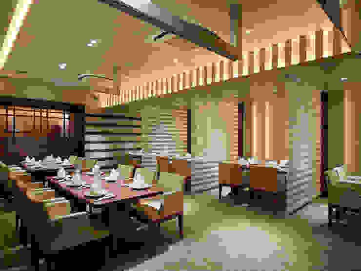 Chinese Restaurant SHAHODEN 和風デザインの 多目的室 の 株式会社オムド 和風 木材・プラスチック複合ボード