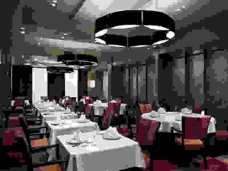 Chinese Restaurant SHAHODEN 和風デザインの 多目的室 の 株式会社オムド 和風 石