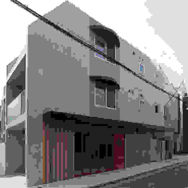 下北沢の賃貸マンション モダンな 家 の ユミラ建築設計室 モダン