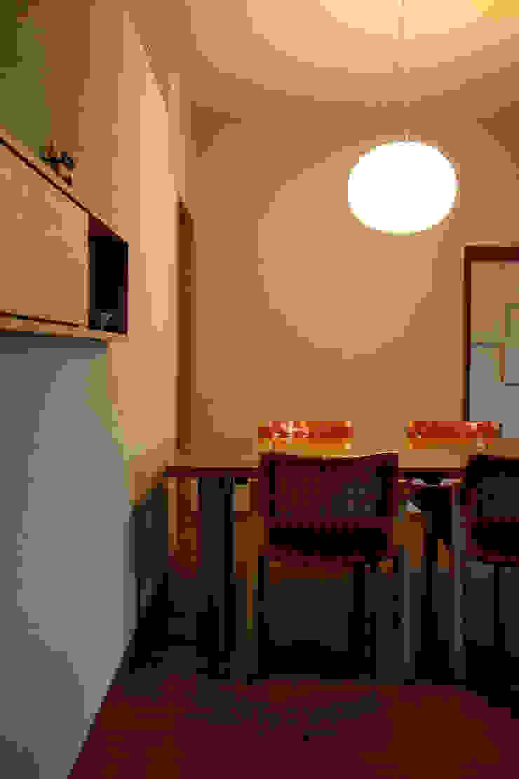 毘沙門の家 オリジナルデザインの ダイニング の 村松英和デザイン オリジナル