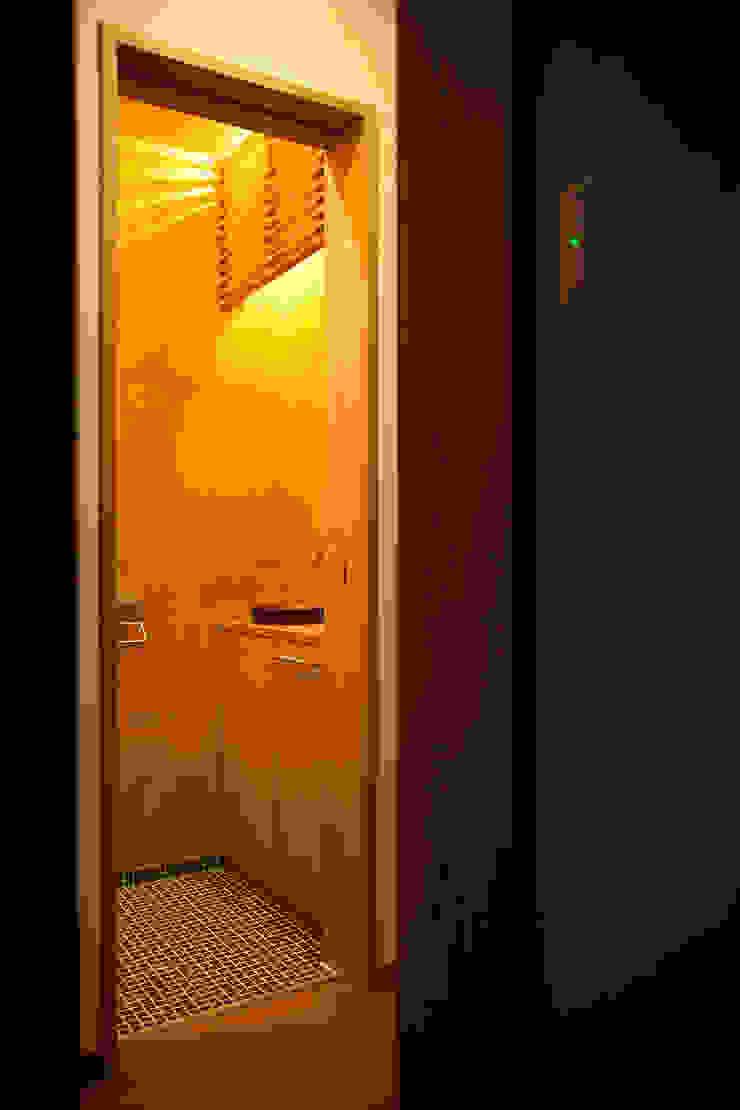 毘沙門の家 オリジナルスタイルの お風呂 の 村松英和デザイン オリジナル