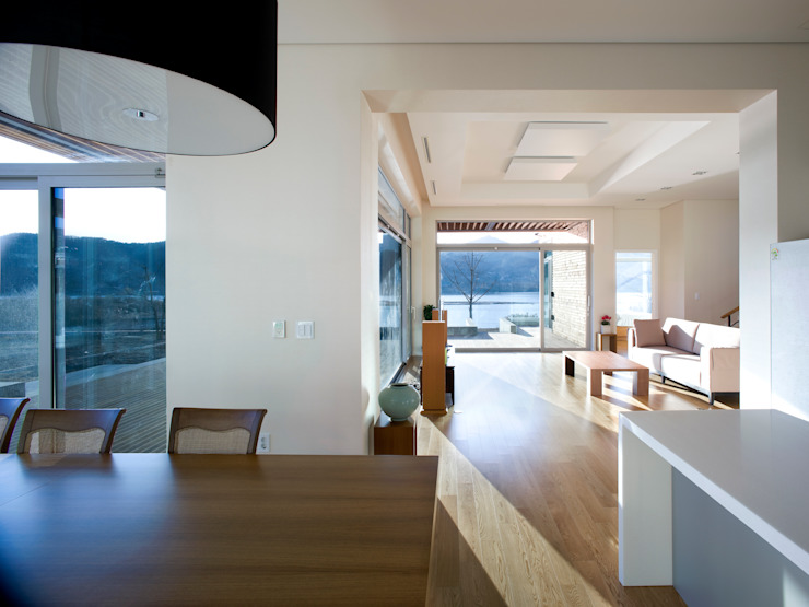 Столовая комната в стиле модерн от craft design Модерн