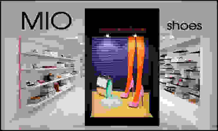 Дизайн интерьера обувного магазина MIO Офисы и магазины в стиле минимализм от TUR4ENKONATALY design space Минимализм