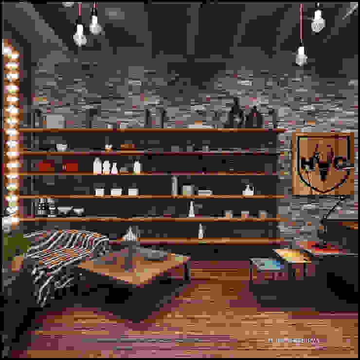 Магазин декора HOME CONCEPT Офисы и магазины в стиле лофт от TUR4ENKONATALY design space Лофт