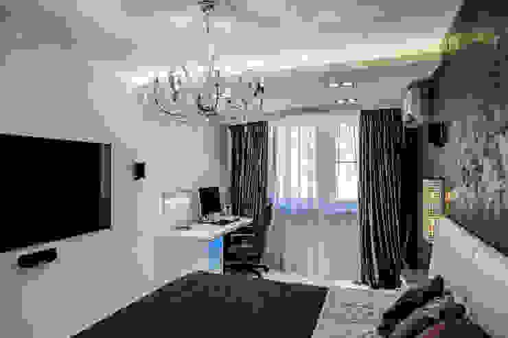 Квартира Командира воздушного судна Спальня в стиле минимализм от LUXER DESIGN Минимализм