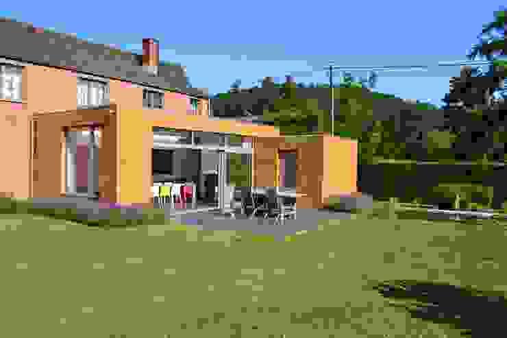 Wilmotte-Mosty Jardin d'hiver moderne par Wilmotte Architecte Moderne